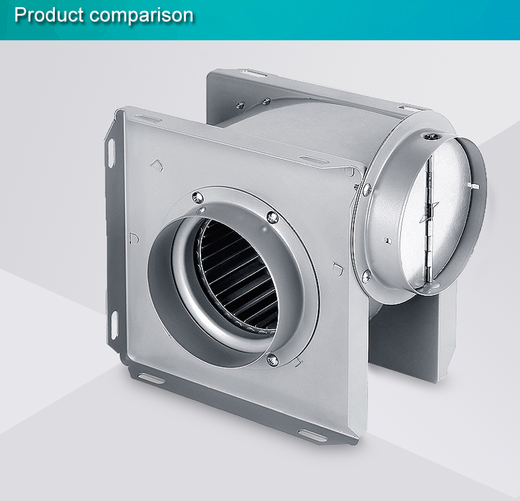 Wholesale vertical duct ventilation fan manufacture  (DPT10-11A)