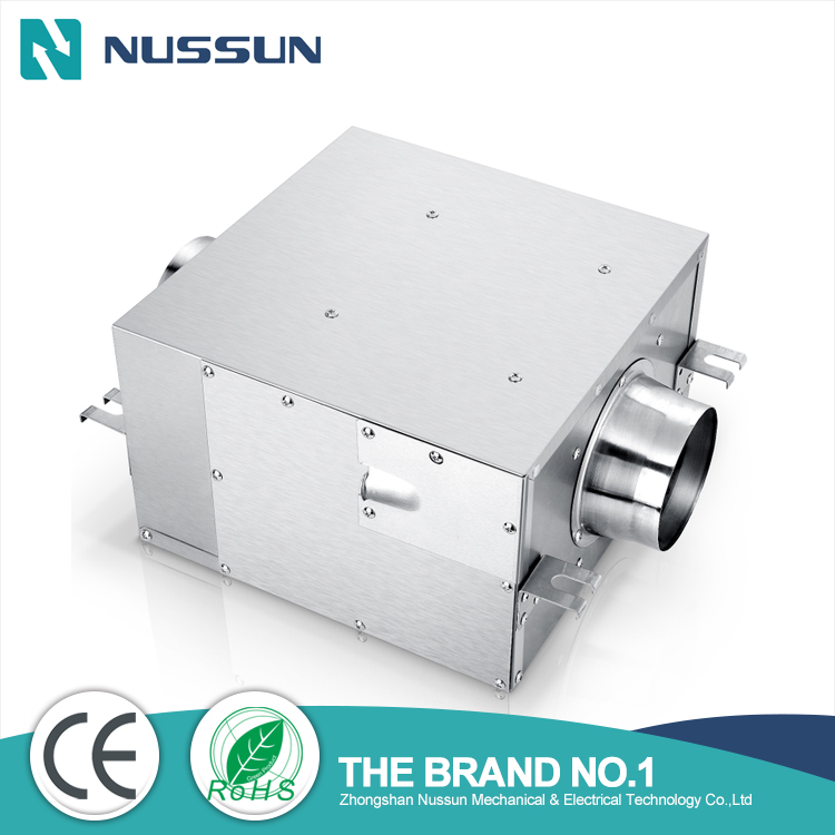 Wholesales acoustic box Inline duct fan supplier(DPT15-32B)
