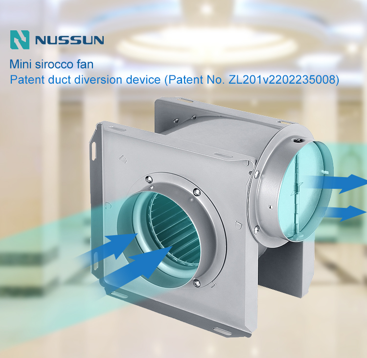 Wholesale Kitchen duct fan manufacture (DPT20-45)
