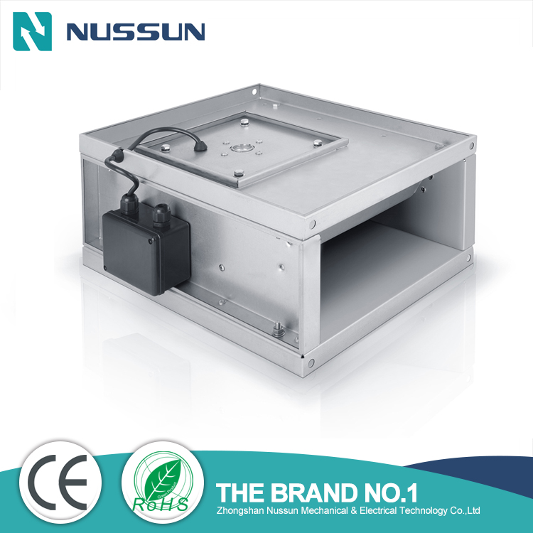 Wholesales Industrial rectangular inline duct fan supplier (RKF250*125)