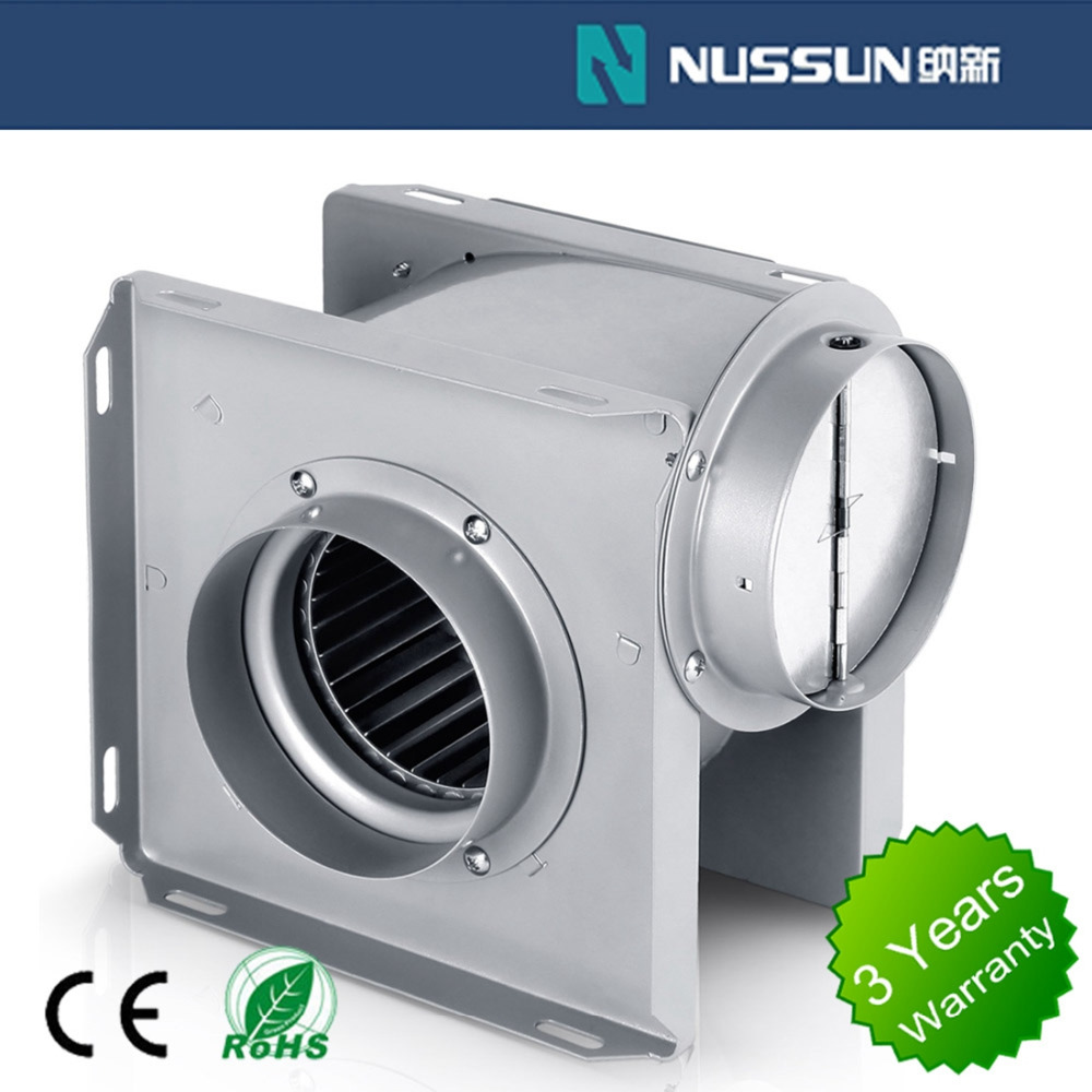 Small Electric For industrial and purifier CE/UL Plastic automatic exhaust fan